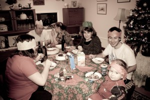 Christmas Dinner with the In-Laws, December