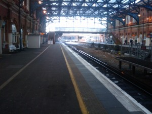 Bournemouth Station, Deserted
