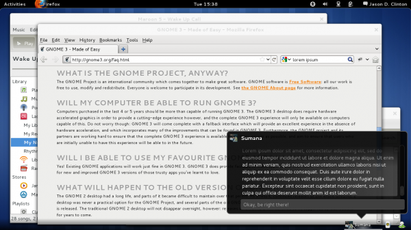 Gnome-Shell Screenshot
