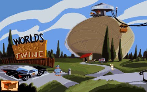World's Largest Ball of Twine (Sam and Max)