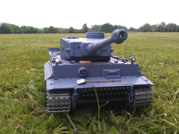 Tank on the Grass