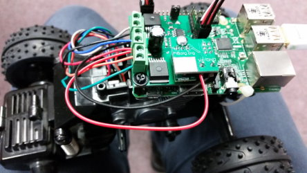 All-Terrain Pi, a Raspberry Pi-controlled ATV toy