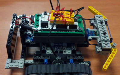 Lego Turtle, an Arduino-controlled Lego Mindstorms robot